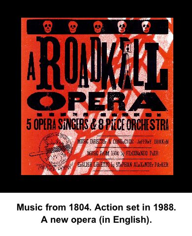 photo of cover of A Roadkill Opera CD