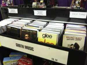 Photo of Groth Music had a complete display at the 2013 Minnesota State Fair, including CDs for sale