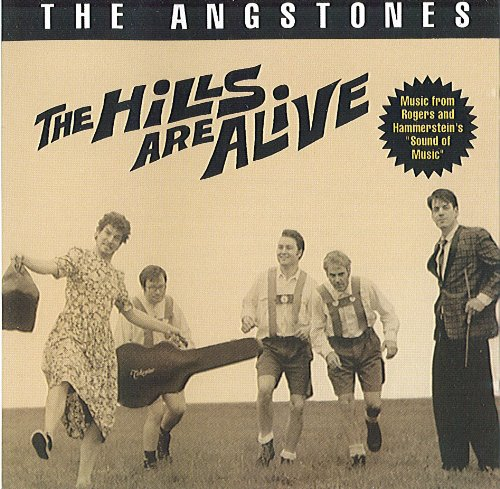 CD cover of The Angstones The Hills Are Alive