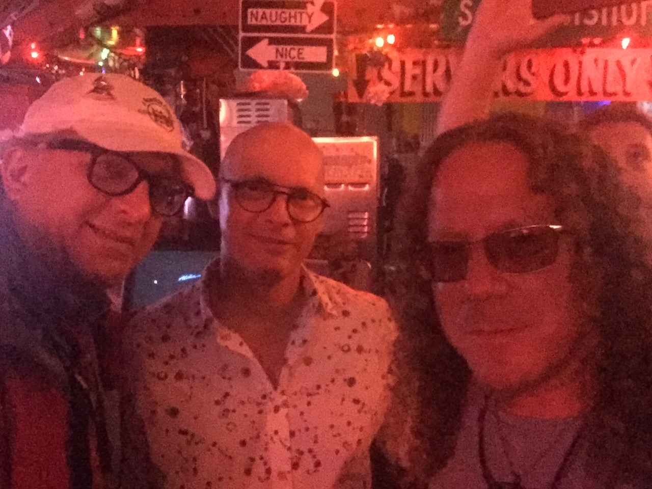 Photo of A Roadkill Opera's Librettist/Executive Producer Stephan Alexander Parker, AVL Digital CEO Tony van Veen, and Bram Bessoff, Founder/President of Indiehitmakers
